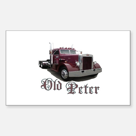 Old Peter Rectangle Decal