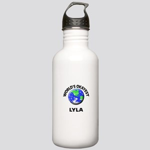 World's Okayest Lyla Stainless Water Bottle 1.0L