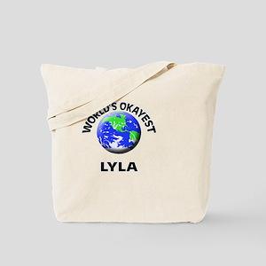 World's Okayest Lyla Tote Bag