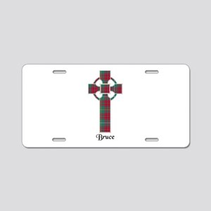 Cross - Bruce hunting Aluminum License Plate