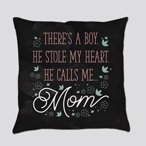 He Calls Me Mom Everyday Pillow