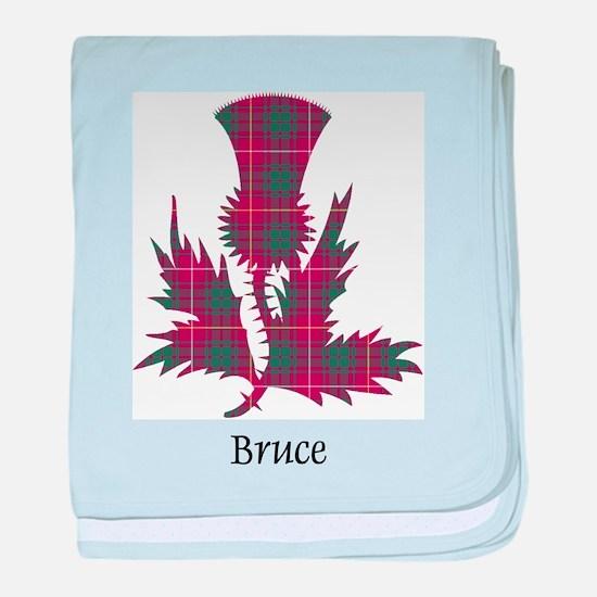 Thistle - Bruce baby blanket