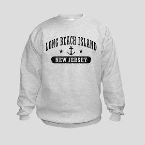 Long beach Island NJ Kids Sweatshirt