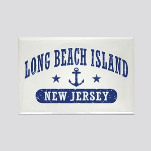 Long beach Island NJ Rectangle Magnet