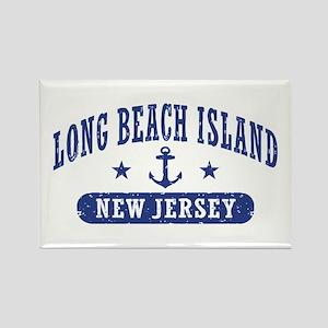 Long beach Island NJ Rectangle Magnet