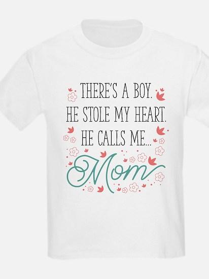 He Calls Me Mom T-Shirt