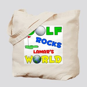 Golf Rocks Lamar's World - Tote Bag