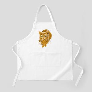 Orange Cat BBQ Apron