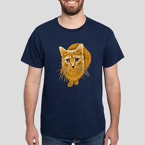 Orange Cat Dark T-Shirt