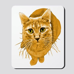 Orange Cat Mousepad