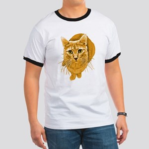 Orange Cat Ringer T