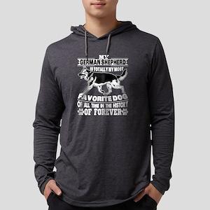 German Shepherd Is My Favorite Long Sleeve T-Shirt