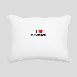 I Love HAMILTON Rectangular Canvas Pillow