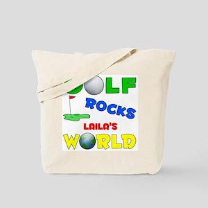 Golf Rocks Laila's World - Tote Bag