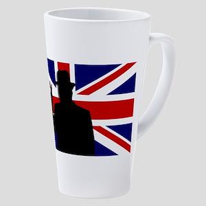 Winston Churchill Victory 17 Oz Latte Mug