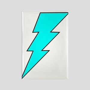 Lightning Bolt 13 Rectangle Magnet