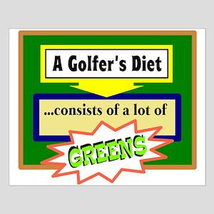 Golfer's Diet Posters