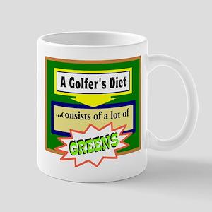 Golfer's Diet Mugs