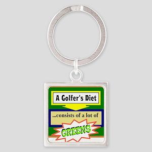 Golfer's Diet Keychains