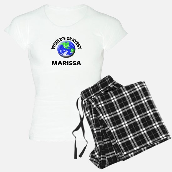 World's Okayest Marissa pajamas