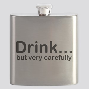 Drink, but very carefully - Hitchhikers Guide Flas