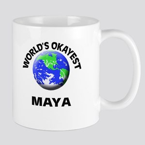 World's Okayest Maya Mugs