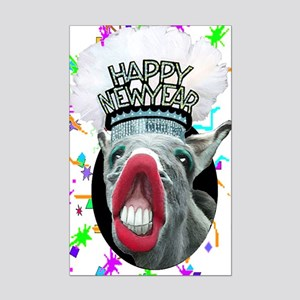 HAPPY NEW YEAR Mini Poster Print