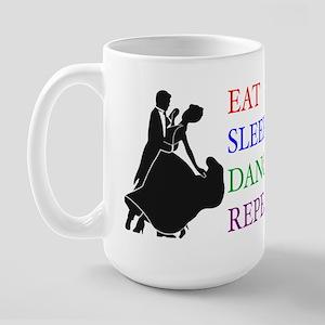 Eat Sleep Dance Large Mug