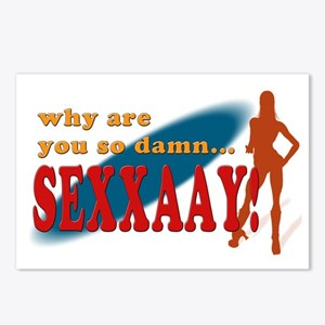So Sexy Postcards (Package of 8)