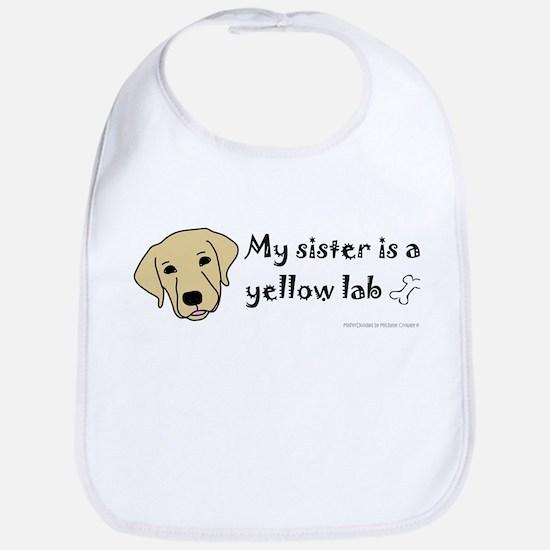 yellow lab gifts Bib