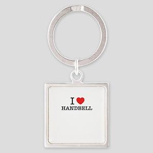 I Love HANDBELL Keychains