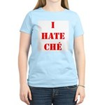 I Hate Che Women's Pink T-Shirt