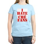 I Hate Che Fans Women's Pink T-Shirt