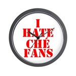 I Hate Che Fans Wall Clock