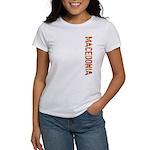 Macedonia Stamp Women's T-Shirt