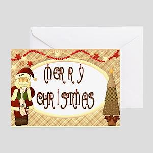 Santa Greeting Cards (Pk of 20)
