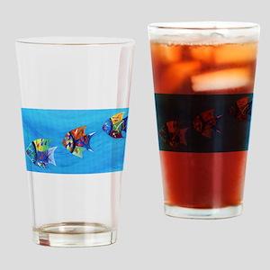 Three Little Fishy's Drinking Glass