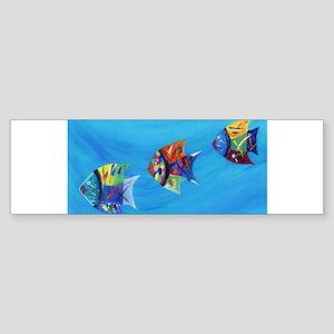 Three Little Fishy's Bumper Sticker