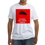 Gullible Che - loving Liberal Fitted T-Shirt