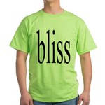 287. bliss Green T-Shirt