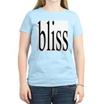 287. bliss Women's Pink T-Shirt