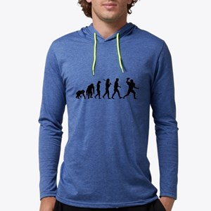Evolution of Football Mens Hooded Shirt