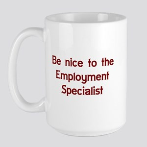 Employment Specialist Large Mug