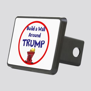 Build a wall around Trump Hitch Cover