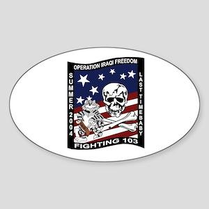VF-84 Jolly Rogers Oval Sticker