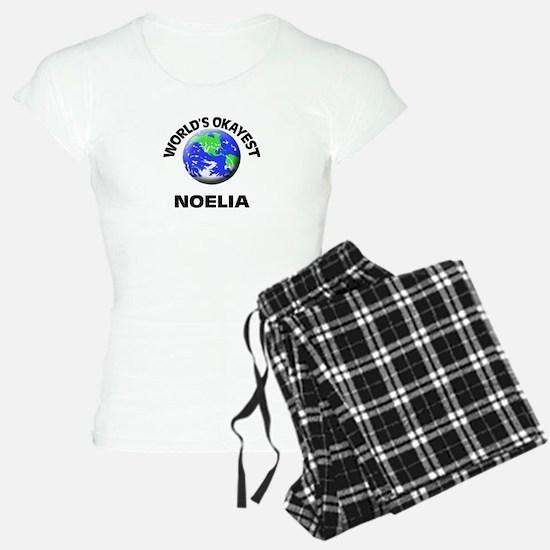 World's Okayest Noelia Pajamas