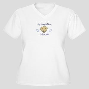 labrador gifts Women's Plus Size V-Neck T-Shirt