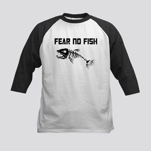 Fear no Fish Baseball Jersey