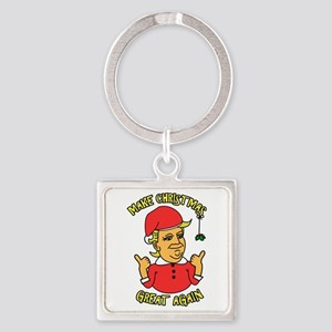 Make Christmas Great Again Keychains