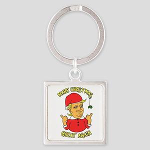 Make Christmas Great Again Keychains